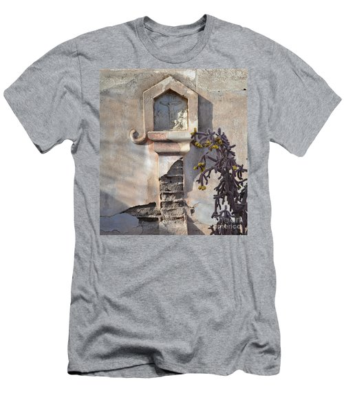 Men's T-Shirt (Slim Fit) featuring the photograph Jesus Image by Rebecca Margraf