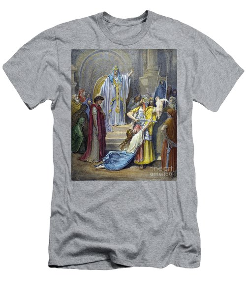 Judgement Of Solomon Men's T-Shirt (Athletic Fit)