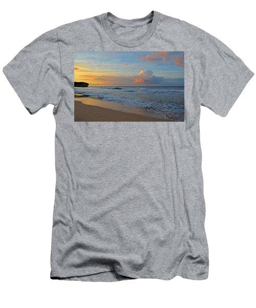 Kauai Morning Light Men's T-Shirt (Athletic Fit)