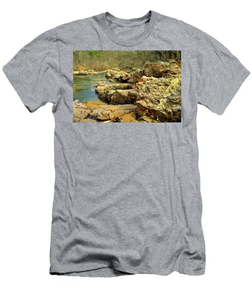 Men's T-Shirt (Slim Fit) featuring the photograph Klepzig Shut In by Marty Koch