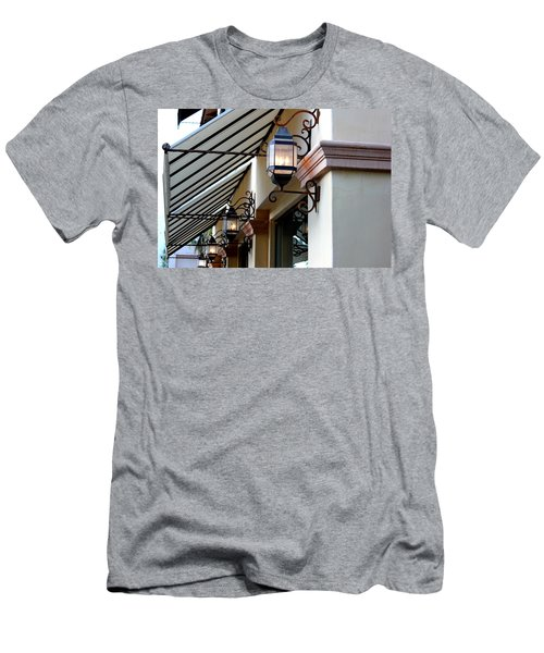 Lanterns And Lines Men's T-Shirt (Athletic Fit)