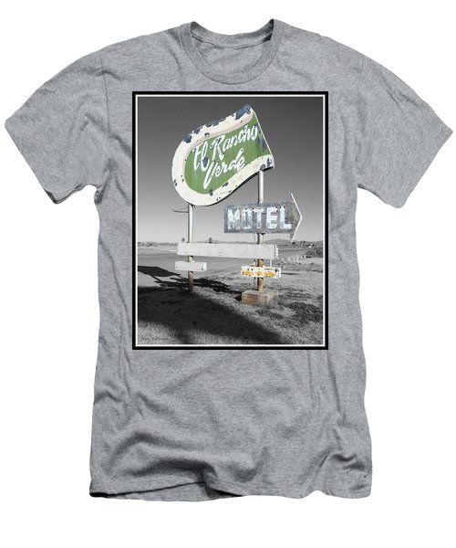 Last Chance Motel Men's T-Shirt (Athletic Fit)