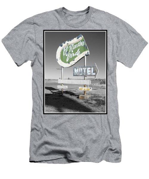 Last Chance Motel Men's T-Shirt (Athletic Fit)