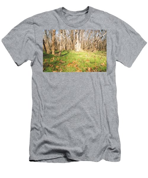 Leaves In The Fall Men's T-Shirt (Athletic Fit)