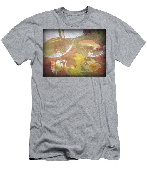 Men's T-Shirt (Slim Fit) featuring the photograph Life's Simple Pleasures by Kay Novy