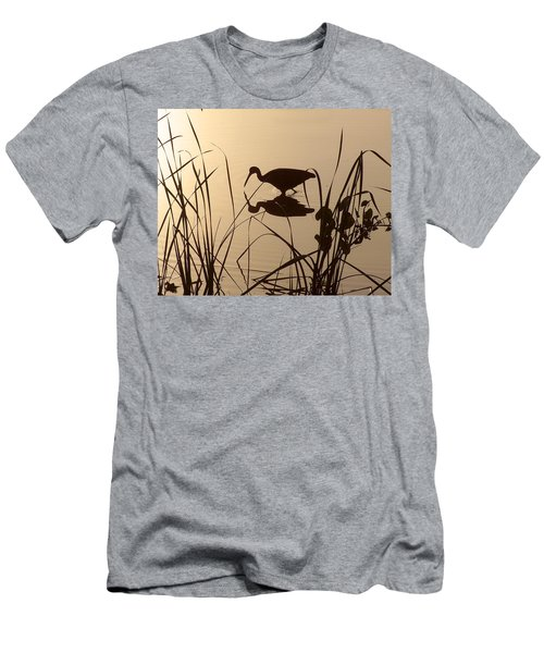 Limpkin At Dawn Men's T-Shirt (Athletic Fit)