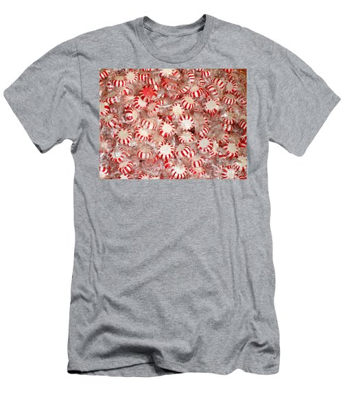Men's T-Shirt (Slim Fit) featuring the photograph Fun  Mints by Beth Saffer