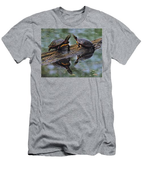 Midland Painted Turtles Men's T-Shirt (Athletic Fit)