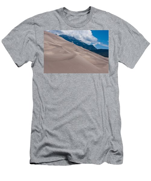 Miles Of Sand Men's T-Shirt (Slim Fit) by Colleen Coccia
