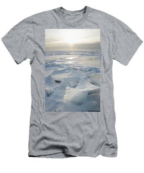 Minnesota, United States Of America Ice Men's T-Shirt (Athletic Fit)