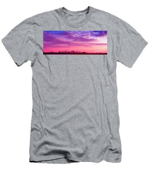 Mississippi River Bridge At Twilight Men's T-Shirt (Athletic Fit)