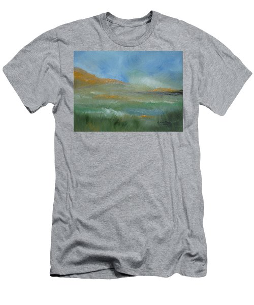 Misty Morning Men's T-Shirt (Slim Fit) by Judith Rhue