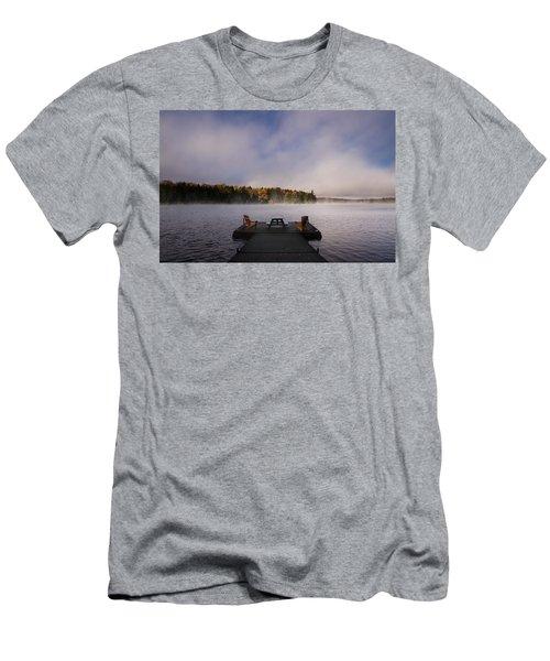 Misty Sunrise Men's T-Shirt (Athletic Fit)