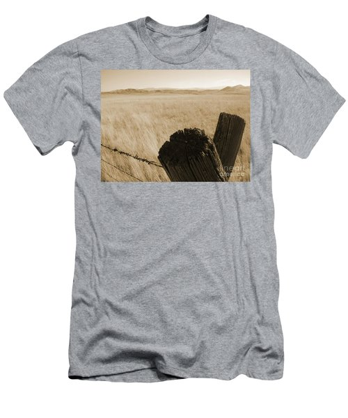 Men's T-Shirt (Slim Fit) featuring the photograph Montana Vista by Bruce Patrick Smith