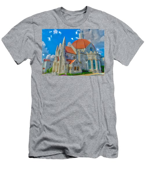 Montgomery Baptist Church Hdr Men's T-Shirt (Athletic Fit)
