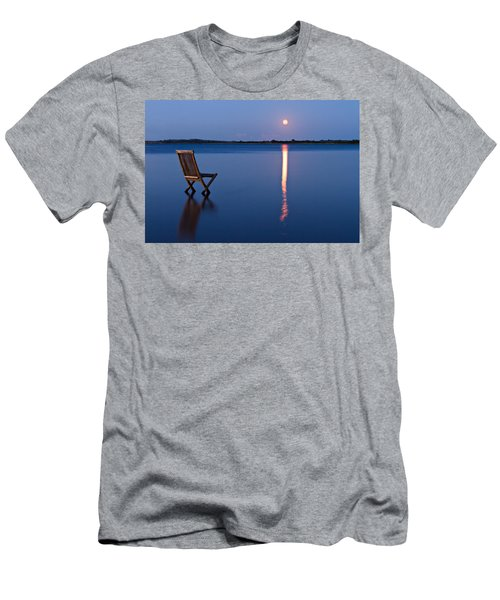 Moon View Men's T-Shirt (Athletic Fit)