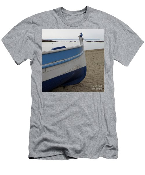 Men's T-Shirt (Slim Fit) featuring the photograph Morning Seascape by Lainie Wrightson