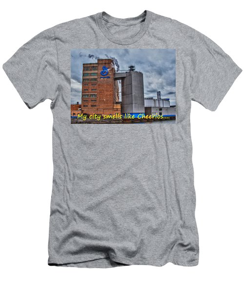 My City Smells Like Cheerios Men's T-Shirt (Athletic Fit)