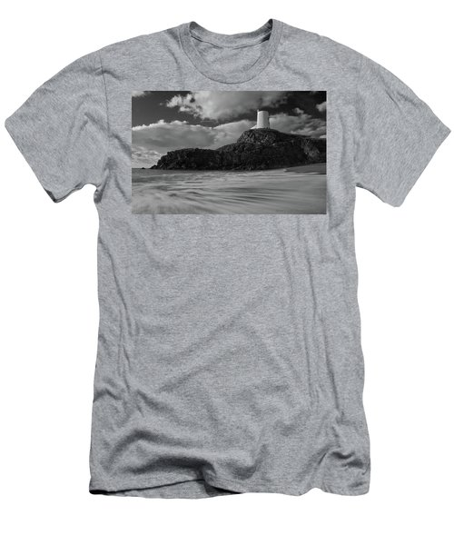 Niwbwrch Lighthouse Men's T-Shirt (Athletic Fit)