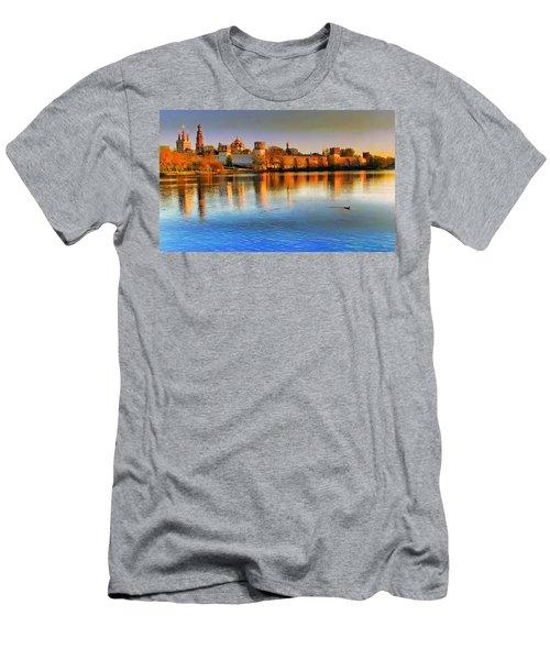 Novodevichy Convent Men's T-Shirt (Athletic Fit)