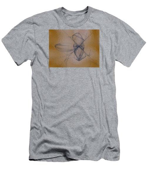 Men's T-Shirt (Slim Fit) featuring the digital art Nuoretta by Jeff Iverson