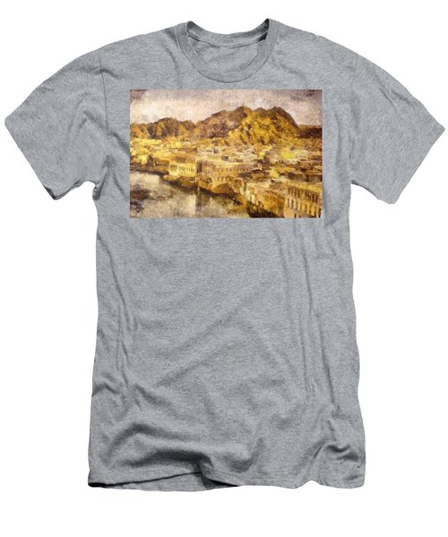 Old City Of Muscat Men's T-Shirt (Athletic Fit)