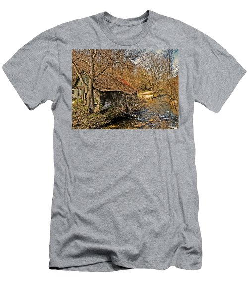 Old Home On A River Men's T-Shirt (Athletic Fit)