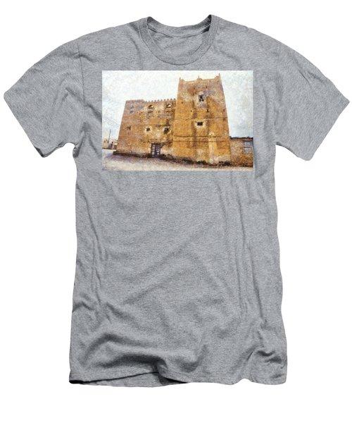 Old Mansion In Mirbat Men's T-Shirt (Athletic Fit)