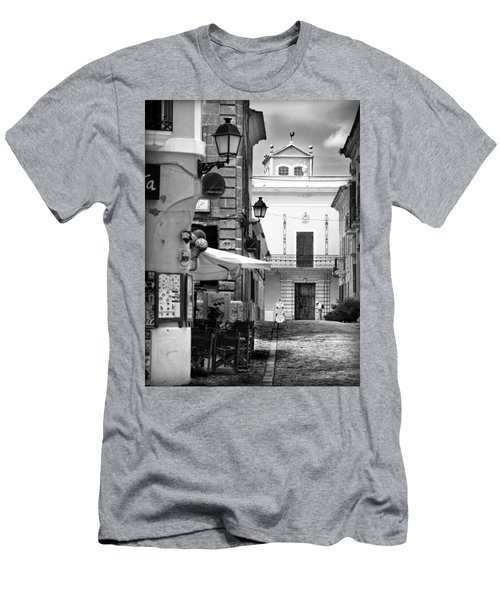 Men's T-Shirt (Slim Fit) featuring the photograph Old Town by Pedro Cardona