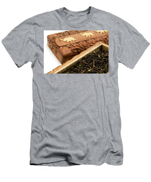 Ornate Box With Darjeeling Tea Men's T-Shirt (Athletic Fit)