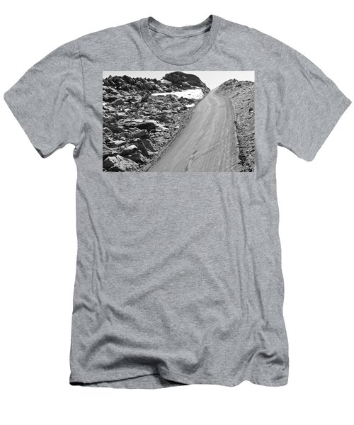 Over The Edge Men's T-Shirt (Slim Fit) by Colleen Coccia