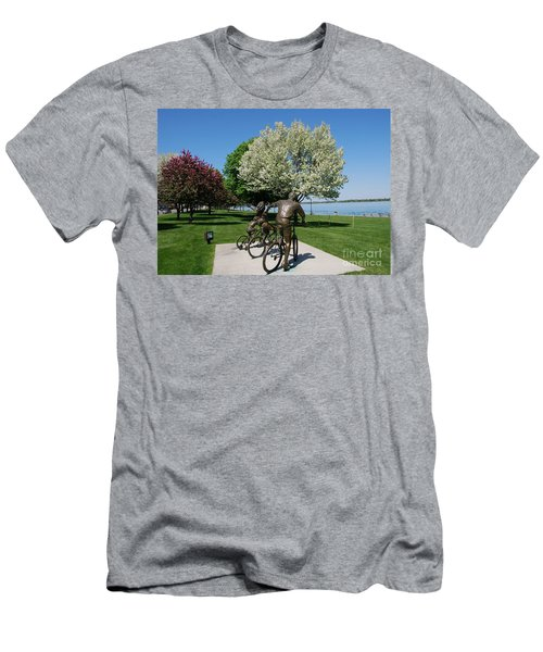 Palmer Park In Spring 2 Men's T-Shirt (Athletic Fit)