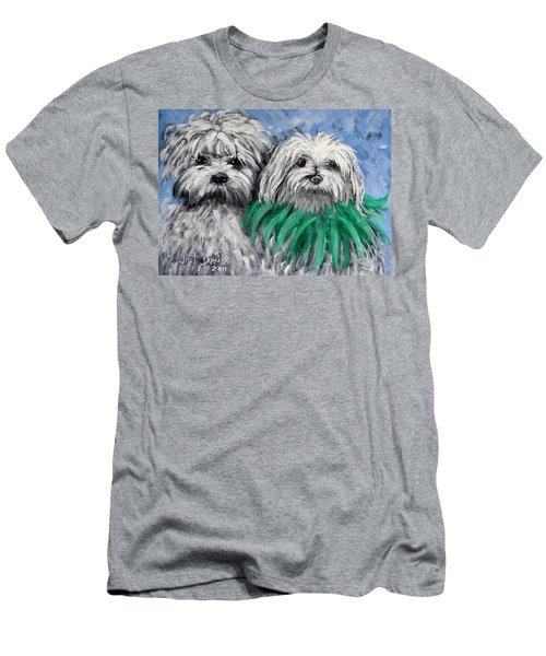 Parade Pups Men's T-Shirt (Slim Fit) by Jeanette Jarmon