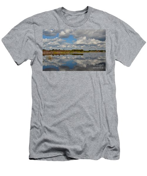 Partly Cloudy Men's T-Shirt (Slim Fit) by Carol  Bradley