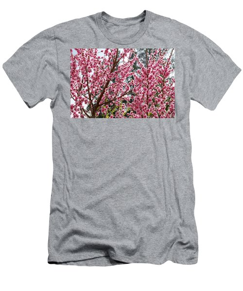 Men's T-Shirt (Slim Fit) featuring the photograph Pink Flood by Fotosas Photography