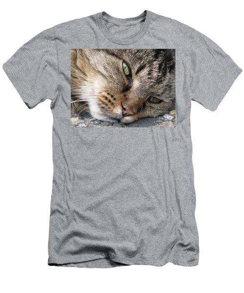 Pondering Men's T-Shirt (Slim Fit) by Rory Sagner