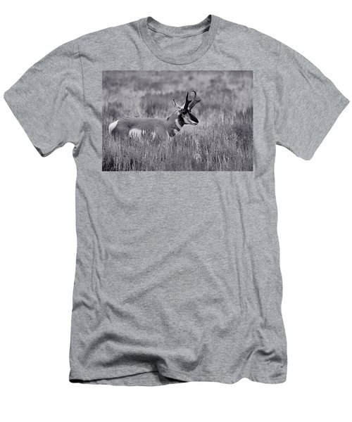 Men's T-Shirt (Slim Fit) featuring the photograph Pronghorn  by Eric Tressler