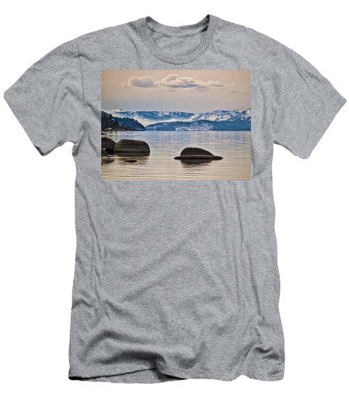 Quiet Lake Tahoe Men's T-Shirt (Athletic Fit)