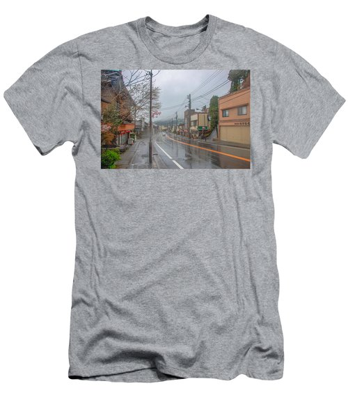 Rainy Day Nikko Men's T-Shirt (Athletic Fit)