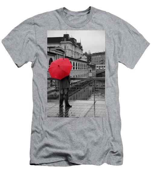 Rainy Days In Ljubljana Men's T-Shirt (Athletic Fit)