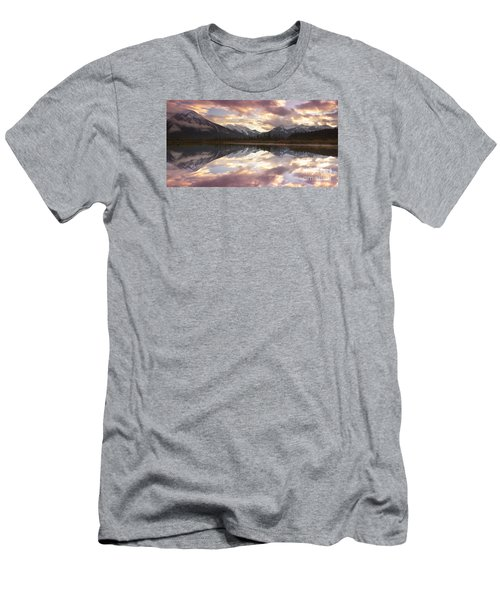 Reflecting Mountains Men's T-Shirt (Athletic Fit)
