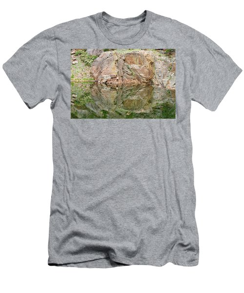 Reflections In The Colorado Rocky Mountains  Men's T-Shirt (Athletic Fit)