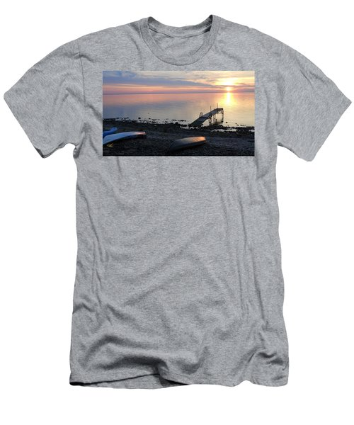 Restful Waters Men's T-Shirt (Athletic Fit)