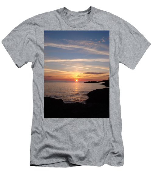 Men's T-Shirt (Slim Fit) featuring the photograph Rising Sun by Bonfire Photography