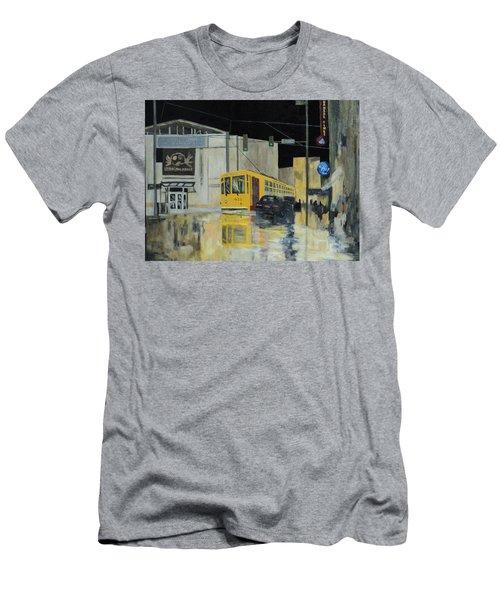 Rivermarket Streetcar 411 Men's T-Shirt (Athletic Fit)