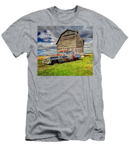 Rusty Old Cadillac Men's T-Shirt (Athletic Fit)