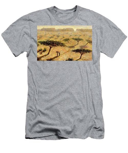 Sahelian Landscape Men's T-Shirt (Athletic Fit)