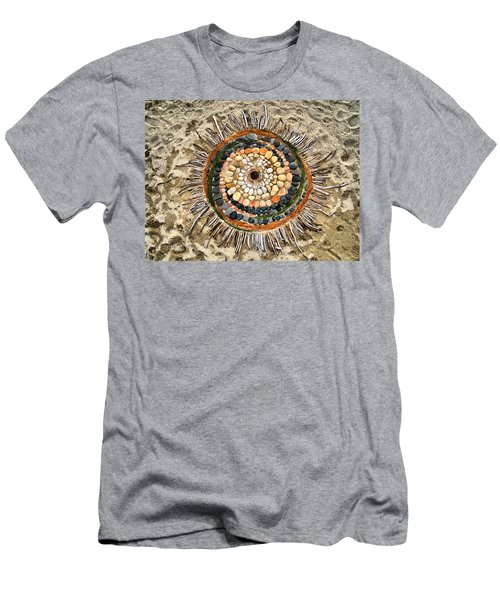 Sand Art Men's T-Shirt (Athletic Fit)