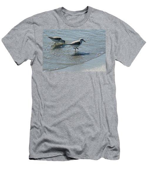 Sandpiper 7 Men's T-Shirt (Slim Fit) by Joe Faherty