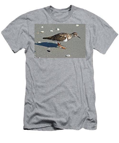 Sandpiper 9 Men's T-Shirt (Slim Fit) by Joe Faherty